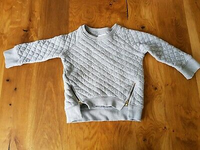 Country Road Girls Grey Jumprr Guc Size 3
