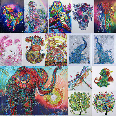 5D DIY Special Animals Diamond Painting Embroidery Cross Stitch Kits Wall Decor
