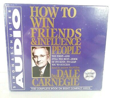 How to Win Friends and Influence People by Dale Carnegie SEALED, 7 hours.