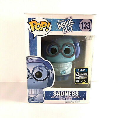Funko Pop #133 Disney Pixar Inside Out Sadness 2015 Summer Convention Exclusive