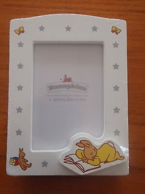 Bunnykins  small white  photo frame