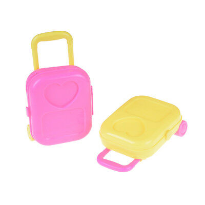 1PC Lovely Doll Travel Suitcase Luggage Case For 18 Inch  Dolls Ut