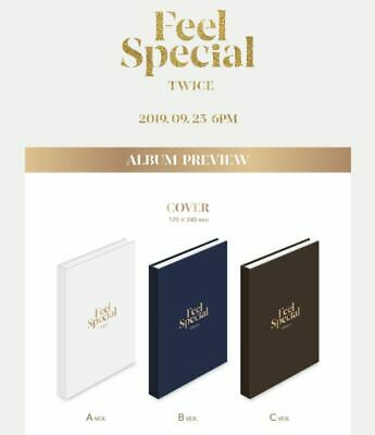 [TWICE] - TWICE FEEL SPECIAL CD Full Package 8th Mini Comeback Ablum