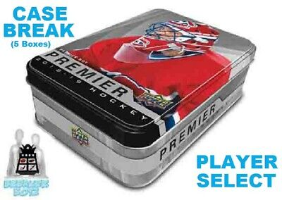 JESPERI KOTKANIEMI RC 2018-19 Upper Deck UD PREMIER 5 Box Case Break Canadiens