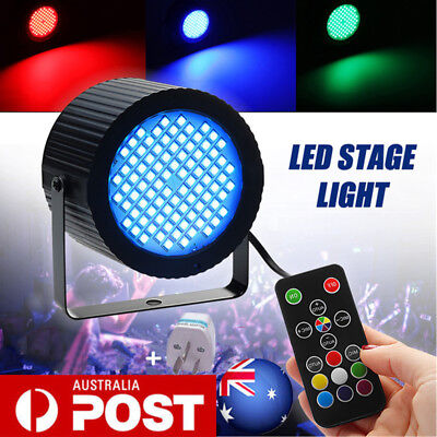 88 LED RGB Strobe Stage Effect Light Sound Activated DJ Club Disco KTV Party