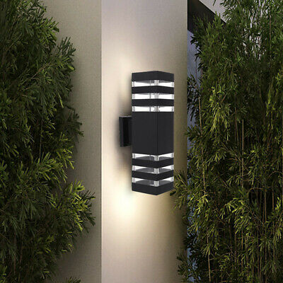 Modern LED Wall Light Up Down Fixture Light Dual Head Outdoor Indoor Sconce