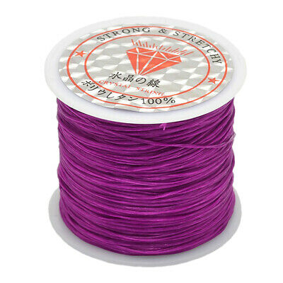 50m Elastic Stretchy Beading Thread Cord Bracelet String For Jewelry Beading
