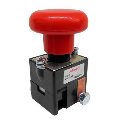 ED125B-4 Albright Emergency Battery Disconnect Switch 125A - 96V Maximum