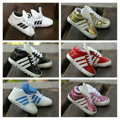 Newborn Infant Baby Boy Girl Crib Shoes Toddler PreWalker Trainers Sneakers 0-18