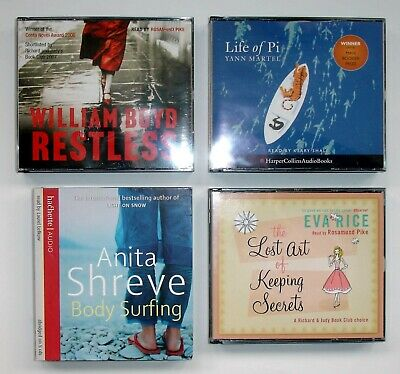 Collection of 4 Women's Fiction CD Audio Books - Boyd, Martell, Rice & Ali