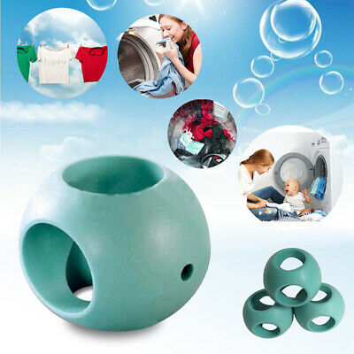 Laundry Ball Green Hard Rubber Anti Limescale Magnetic Machine Ball Accessories.