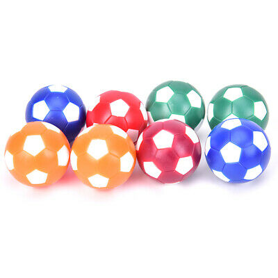 8pcs Mini Colorful Table Soccer Footballs Replacement Balls Tabletop Game Ball.