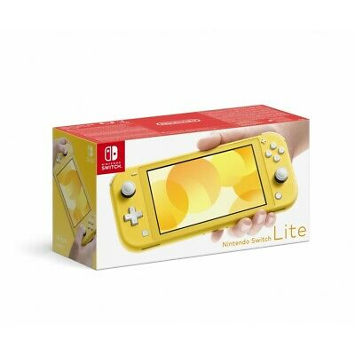 Switch Lite Amarillo + Subscripcion 90 Dias + Codigo Gratuito Super Kirby Clash