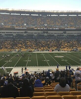 2 Pittsburgh Steelers vs Bengals Tickets Tix Lower Level Section 109 9/30/19 MNF