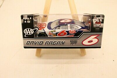 David Ragan #6 AAA Nascar 2007 1:64 Scale Diecast Pit Stop Motorsports Authentic
