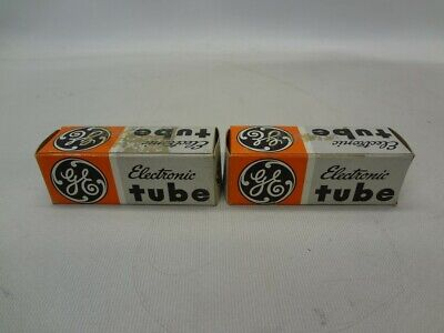 GE 6V6GTA Electronic Tubes Lot of 2 *New Unused*