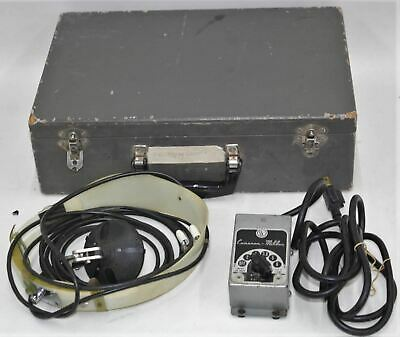 CAMERON MILLER Vintage Exam Doctor Surgeon Dentist Antique Headlamp Light Lamp