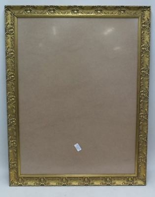 NEW Wide Ornate Shabby Chic Antique Swept Picture Photo Frame Gold 58cm x 87cm