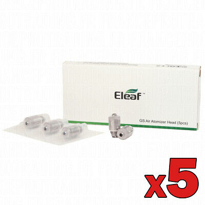 GS Air - Lot de 5 résistances - ELEAF - Pour GS Air 1&2, GS Air M, GS Air turbo