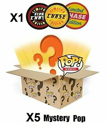 Funko POP! Mystery 6 Pack w/ 1 Random Limited Edition CHASE - Stylized Vinyl Fig