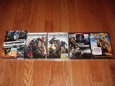 Brand New Sealed. Transformers complete set on DVD. All 6 movies with BumbleBee