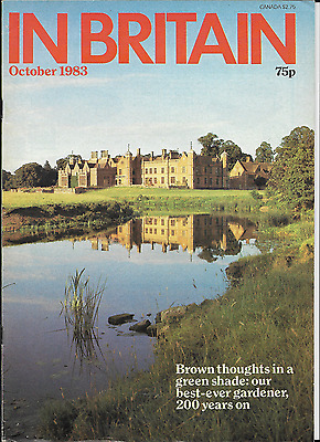 In-Britain Magazine October 1983 With Thames Valley Hotels Insert