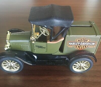 Harley Davidson 1918 Runabout Bank By Ertl USA