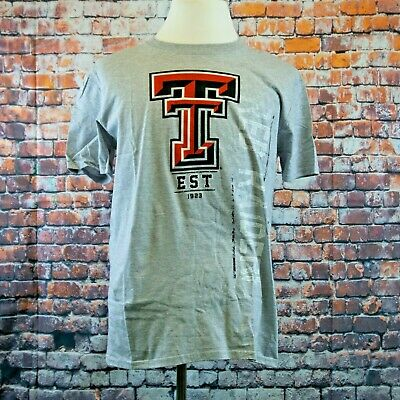 Red NCAA Texas Tech Red Raiders Mens Ouray Long Sleeve Tee 2X