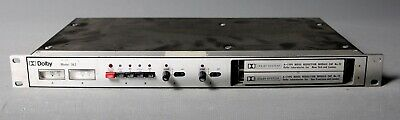 DOLBY A 362 analog noise reduction 2x CAT.22