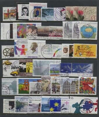 Germany 2003 Year Set Mostly Complete, 2002-2003 Definitives CV $126.45