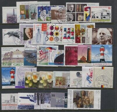 Germany 2004 Year Set Complete Used Commemoratives CV $78.95