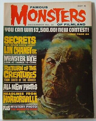 Famous Monsters of Filmland #31