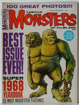 Famous Monsters of Filmland 1968 Yearbook
