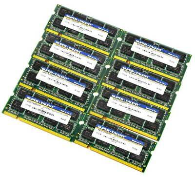 Lot of 6 12 60 Laptop Memory Box Case Clamshell for DDR 1,2,3 SODIMM Modules
