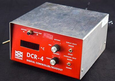 Neslab DCR-4 Laboratory Benchtop Digital Readout Temperature Controller w/Probe