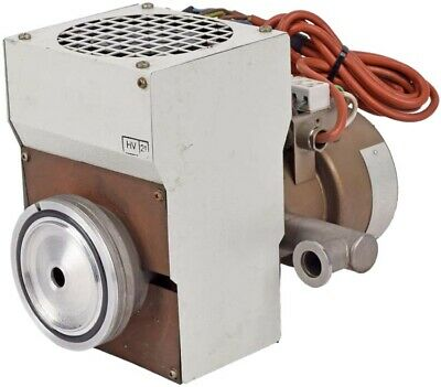 "Leybold 21945 400W 220V 3-3/4"" OD Flange Air-Cooled Oil Diffusion Vacuum Pump"