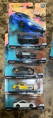 Hot Wheels 2019 Car Culture Street Tuners - Set Of 5 Fpy86-956L In Stock