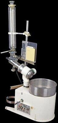 Buchi Laboratory Tabletop Rotavapor Rotary Evaporator +Hot Water Bath +Glassware