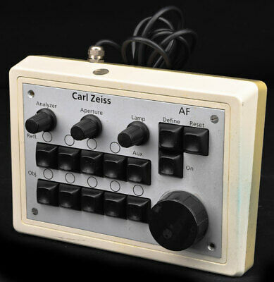 Carl Zeiss 457493 Microscope Optic Lamp Camera Objective AF Remote Control Panel