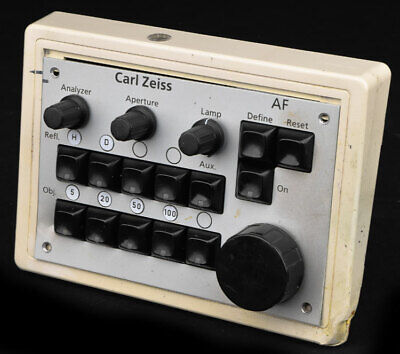 Carl Zeiss 457493 Microscope Lamp Camera Objective AF Remote Control Panel PARTS