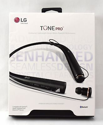 LG Tone Pro HBS-780 Wireless Stereo Headset - Black