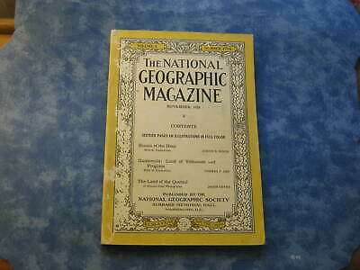 ANTIQUE NATIONAL GEOGRAPHIC November 1926 RUSSIA Guatemala Volcanoes COSTA RICA