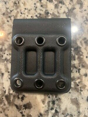 G-CODE Belt Loop Slide Holster Mount Black Kydex 1.75 GHS OSH SOC RTI XST