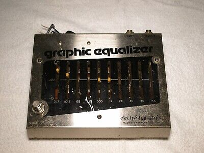 Vintage Electro Harmonix 10 Band Graphic Eq Made in NYC ORIGINAL OWNER