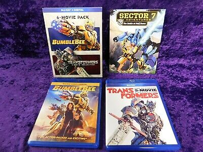 Bumblebee And Transformers Ultimate 6-Movie Collection Blu-ray - Free Shipping
