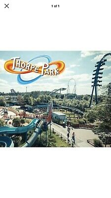 2x Thorpe Park 2 x Tickets 20th September 2019 20/09/2019 Actual Tickets 200919