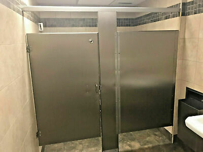 COMMERCIAL GRADE Stainless Steel Bathroom STALL PARTITION Handicap Acc.