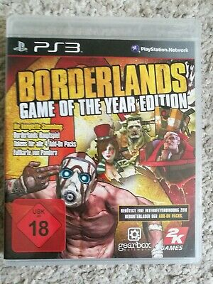 Borderlands -- Game of the Year Edition (Sony PlayStation 3, 2010) wie NEU