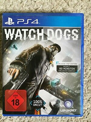 Watch Dogs -- Bonus Edition (Sony PlayStation 4, 2014) wie NEU mit Bonusinhalten
