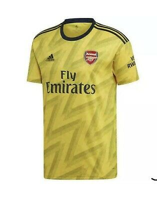 Arsenal 2019/20 PL Sleeve Badge Away Shirt SMALL